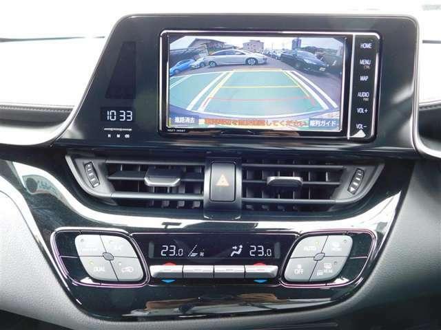 フルセグTV付き純正ナビゲーション。Bluetoothオーディオにも対応。後方の視界を確保する、ステアリング連動ガイド付きバックカメラも付いていますので、バックの駐車もラクラク♪
