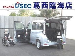 トヨタ タンク 1.0 X S ウェルキャブ 助手席リフトアップシート車 Bタイプ スマアシ2 スマートキー 車いす付