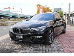 BMW 7シリーズ 750i Mスポーツ 黒革右ハンドルHUDサンル-フレーザーライト