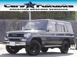 トヨタ ランドクルーザープラド 2.4 SX ディーゼルターボ 4WD 4ナンバー貨物 純正AWブラック塗装