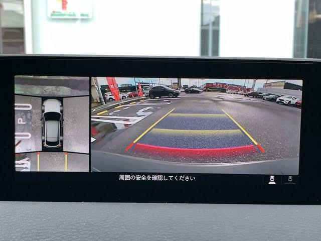 メーカーOPとなっている360°ビューモニターを搭載☆周囲の安全確認がしやすくなっています☆カメラと同時に前後のパーキングセンサーも装着されています♪