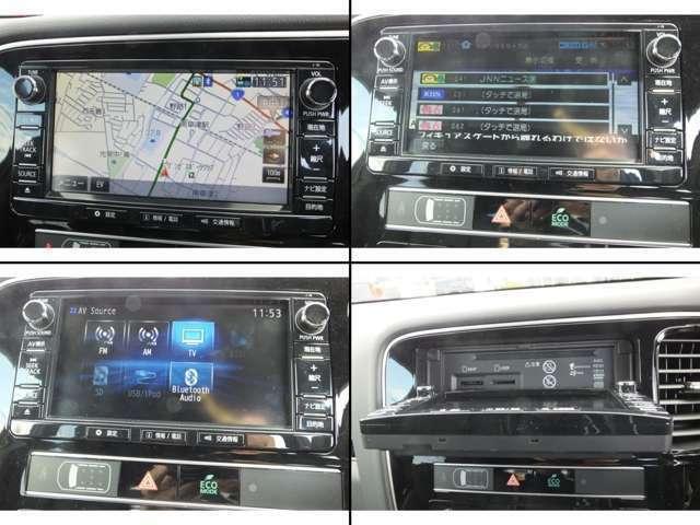 純正メモリーナビを標準装備!テレビ、DVD、Bluetooth等、機能も充実したナビですよ♪