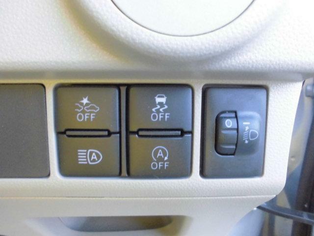 各種操作スイッチです!