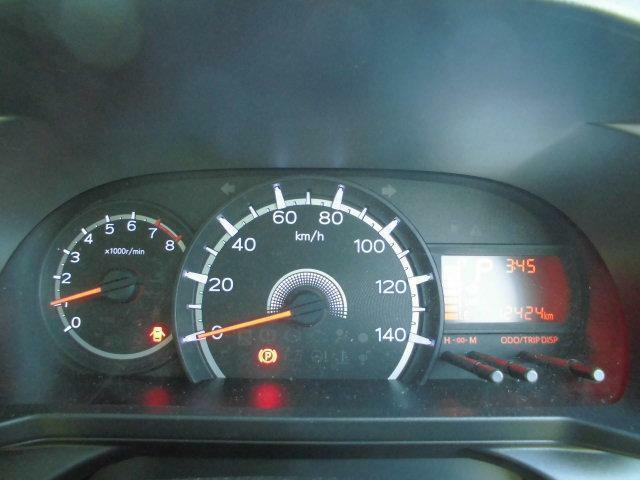 見やすいスピードメーター
