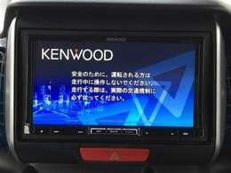 KENWOOD製ナビ付きで知らない土地のドライブも安心!CD、DVD、TVも楽しめます♪