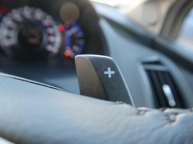 【パドルシフト】ATの車でもパドルシフトを使うことで、マニュアル感覚を楽しむことが出来ます♪