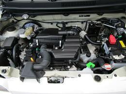 軽量・コンパクトなR06A型ツインカムエンジン