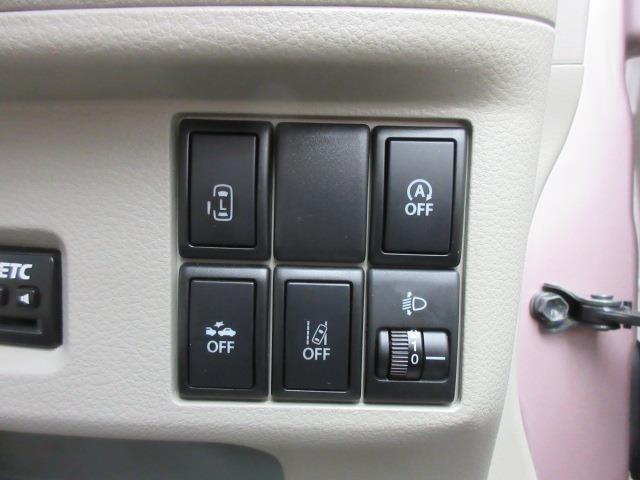安全運転をお手伝いするスズキ自動車の運転支援装置『デュアルカメラブレーキサポート機能』搭載しています。