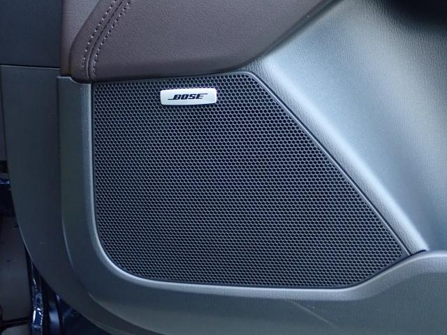 大人気のBOSEサウンドシステムが装備されています!車内のどの席からでも、全面のステージから音が聴こえてくるような臨場感のあるサウンドが魅力です!快適なドライブを音響の面からサポートします!