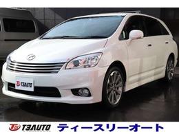 トヨタ マークXジオ 2.4 エアリアル 最終モデル/後期型/純正ナビTV/DVD再生
