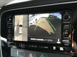 駐車時楽々「アラウンドビューモニター」装備で初心者の方でも安心。