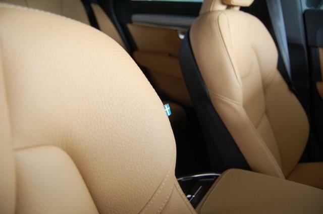 ボルボのシートは長距離ドライブでも疲れにくいシートです。