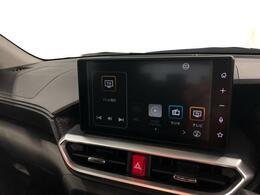 大画面9インチディスプレーオーディオ装備!お手持ちのスマートフォンを接続すればカーナビに早変わり!フルセグTV視聴やBluetooth接続で音楽プレーヤーとしてもご利用いただけるスグレモノなのです