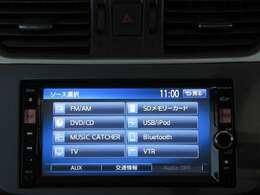 メモリーナビ(MC312D-W) フルセグTV・DVD・CD・ラジオ・SD
