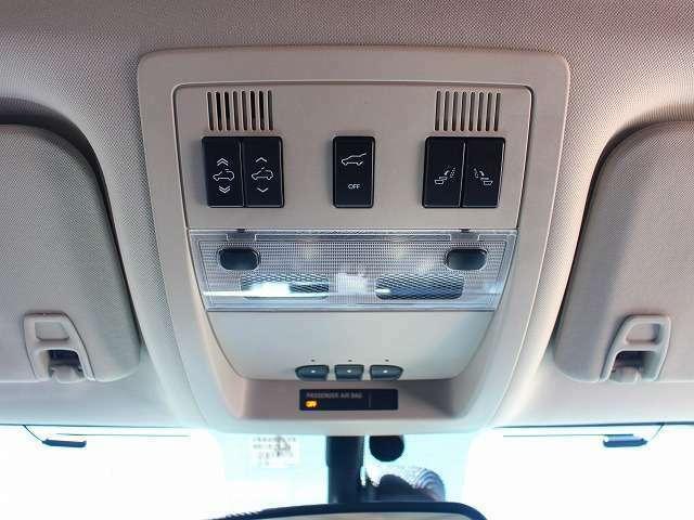 運転席から、セカンドパワーリリース機能をコントロールすることができます。