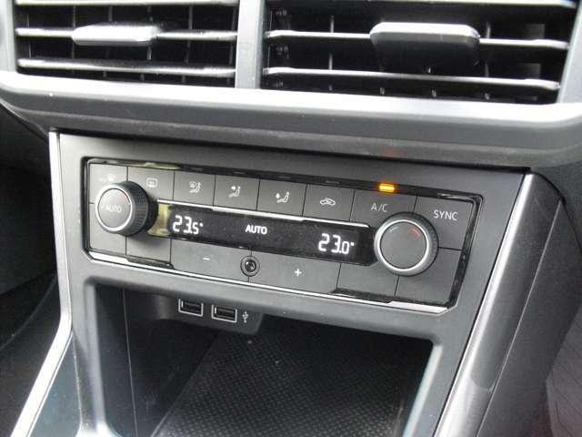 AUTOエアコンで室内の空調管理もバッチリですよ!