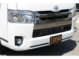 前方衝突安全装備セーフティーセンス搭載!ダークプライムII標準装備LEDヘッドライト!