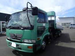 UDトラックス コンドル 2008 花見台セフティローダー積載車アオリ3方開