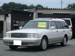 トヨタ クラウンワゴン 2.5 ロイヤルサルーン 8人乗り コラムAT ベンチシート HID