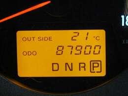 走行距離はおよそ88,000Kmです。
