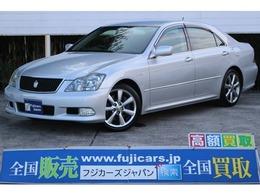 トヨタ クラウンアスリート 3.5 Gパッケージ 黒革シート 純正HDD フルセグ