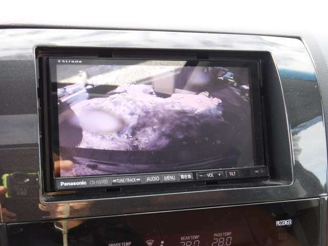 フロント/サイド/バックカメラで車検対応