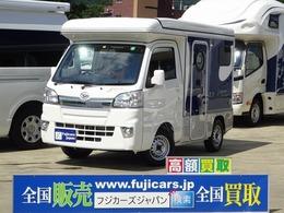 ダイハツ ハイゼットトラック インディアナRV インディ727 インバーター ポップアップルーフ FASP