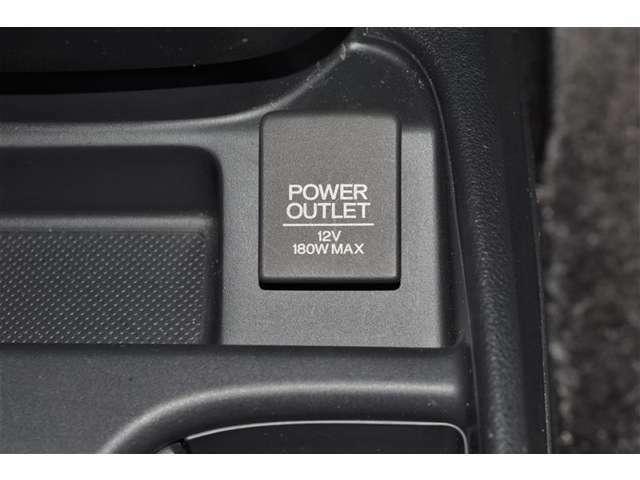 ☆パワーアウトレット☆バッテリー からのDC電源をAC100Vに変換し、車内にて家電製品をご使用頂けます(^_^)/