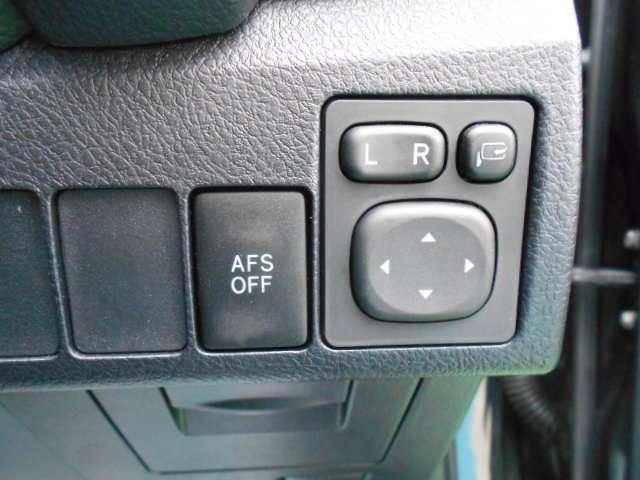 電動格納式ドアミラー AFS
