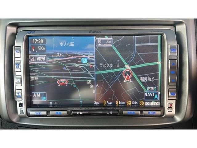 HDDナビ ETC バックカメラ ETC HIDライト パドルシフト スカイルーフ