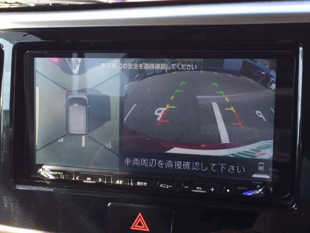 ☆バックカメラも装備されています!!車庫入れなどバック時の安心装備☆