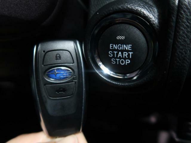 【キーレスアクセス&プッシュスタート】キーを差し込まなくてもブレーキペダルを踏みながらスイッチを押すだけでエンジン始動が可能です☆
