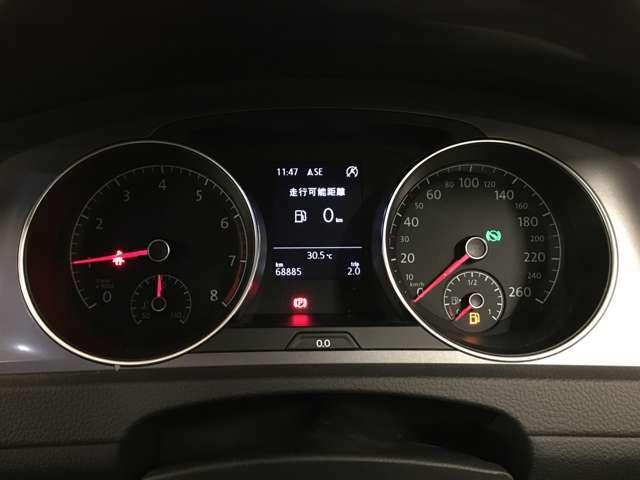 【スピードメーター】走行時でも安全に車の状況を確認することができます!