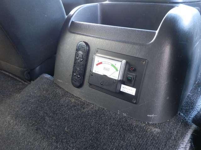 TFOX車中泊仕様 ベッドキット 走行充電 POWER TITE転送スイッチ付正弦波インバーター キャンピングカー用サブバッテリー(パワーソニック)