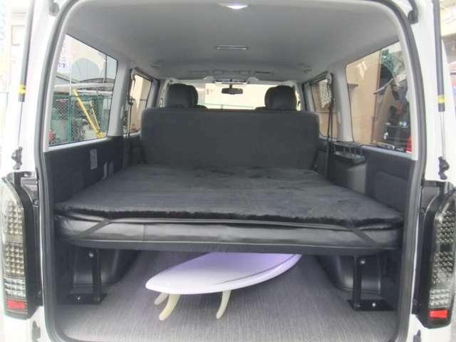 車中泊 キャンプにベッドキット 2種類からお選び頂けます。ご使用用途に応じてお選び頂けます。キャンプ 車中泊に大人気!
