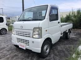 マツダ スクラムトラック 660 KC スペシャル 3方開 4WD 5速マニュアル車 エアコン パワステ
