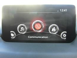 センターディスプレィの搭載位置をダッシュボード上としたことで、視線移動量を大幅に低減しています。