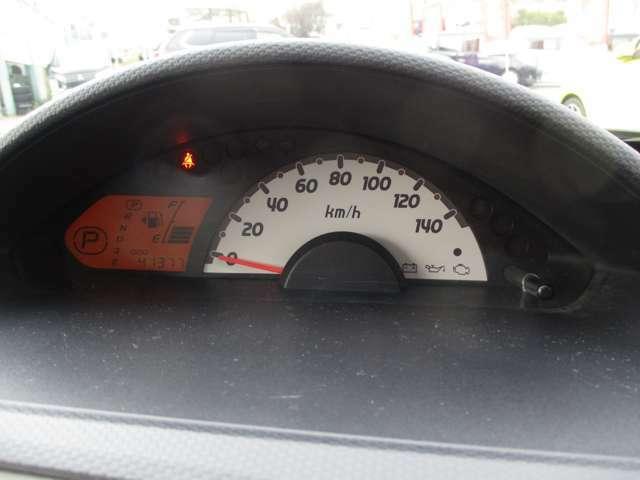 スピードメーターはセンターレイアウトとなっております!