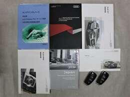 取扱説明書・保証書・記録簿・スペアキー等ございます。H23年~R1年まで毎年正規ディーラーで整備されてきた素晴らしいお車です!