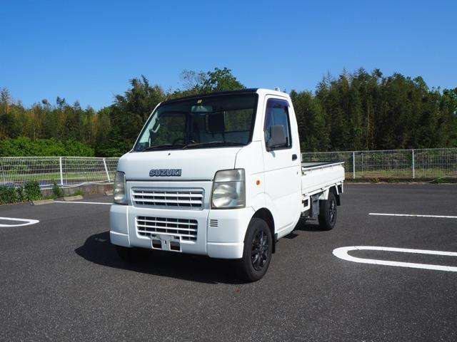 平成21年車スズキキャリートラックです。オートマ・エアコン付き。お問い合わせは担当川村まで090-6153-6142お待ちしております。