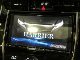 フルセグ内蔵の9インチナビ搭載。DVD再生、Bluetoothも対応可能です。