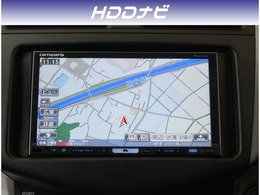 【HDDナビ】今となっては必須アイテムのカーナビ!大容量と高機能のHDDナビ付きです。DVD/ミュージックサーバー付きで音楽も録音可能!操作も簡単です