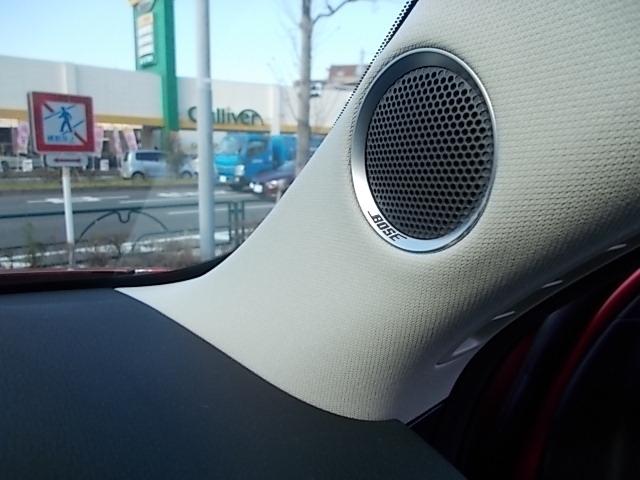 純正BOSEサウンドシステムの澄んだ音をぜひご堪能下さいませ。