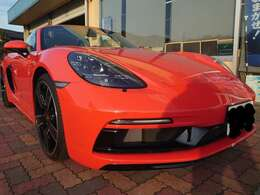 ラバオレンジ スポーツクロノPKGスポーツデザインPKG20インチカレラスポーツアルミ LEDヘッドライト ティンテッドテールライト ブラックレザーインテリア オレンジステッチ BOSEサラウンド 新車総額1270over