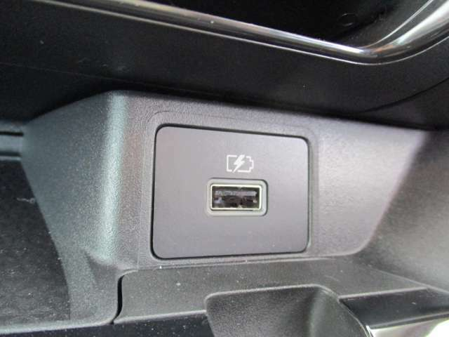 USBソケット装備です。