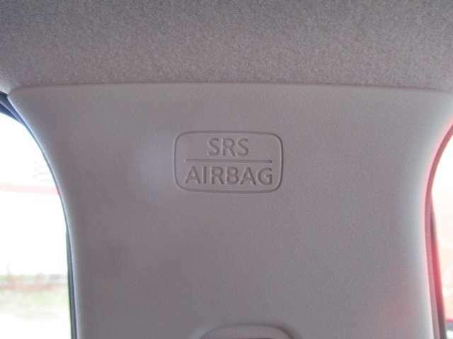 真横からの衝撃から搭乗者を守るカーテンエアバッグ