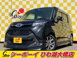 トヨタ タンク 1.0 カスタム G-T 純正9インチナビ モデリスタフルエアロ