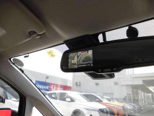 上空から見下ろしたような表示で車両感覚のつかみやすい『アラウンドビューモニター』。