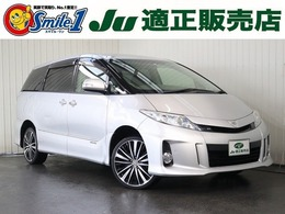 トヨタ エスティマハイブリッド 2.4 X 4WD 8人乗り片Pドアナビ/TV