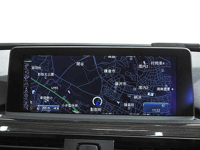 BMW純正iDiveHDDナビ/ミュージックサーバー、Bluetoothオーディオ、ハンズフリーフォン付き